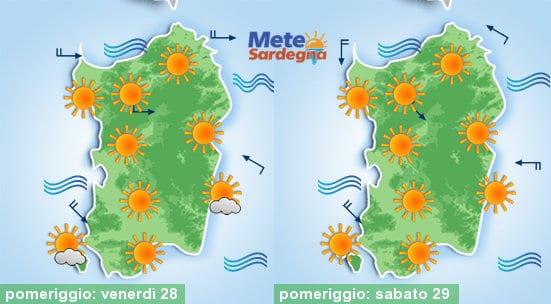 Nuovo rinforzo dell'Alta Pressione, nel weekend tornerà il caldo.