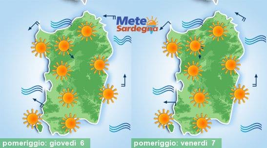 Alta Pressione e caldo in accentuazione nei prossimi giorni.