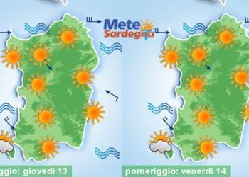 Prosegue il periodo di bel tempo, ma perlomeno registreremo una progressiva diminuzione delle temperature.