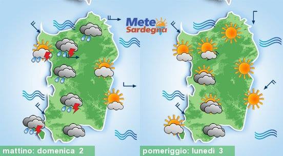 Domenica confermato un peggioramento, specie su settori ovest. Da lunedì tornerà il bel tempo.