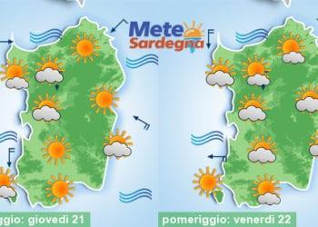 Giovedì e venerdì meteo in progressivo miglioramento.