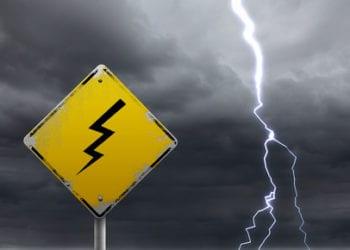 Rischio temporale 350x250 - Tornano le piogge! Ecco la previsione per le prossime 24 ore