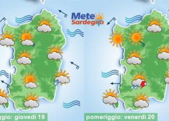 Giovedì e venerdì avremo piogge e temporali? Le ipotesi in gioco.