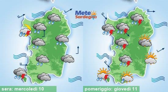Meteo sardegna 5 - Torna l'inverno: imminente peggioramento meteo