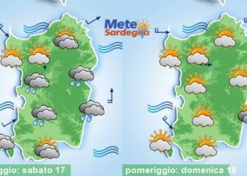Meteo sardegna 13 1 350x250 - Rapido peggioramento giovedì, con piogge poi freddo