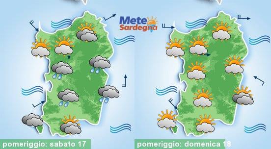 Meteo sardegna 13 1 - Weekend con un po' d'instabilità, poi tornerà il freddo