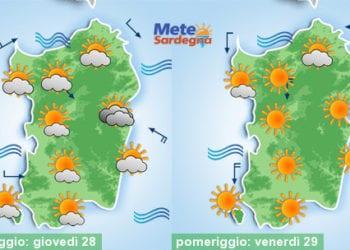 Meteo sardegna 12 350x250 - Bel tempo: non cenno di svolta almeno sino al 20 ottobre