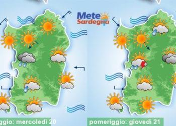Meteo sardegna 8 350x250 - Tornano le piogge! Ecco la previsione per le prossime 24 ore