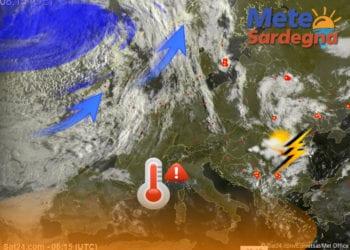 Meteosat 350x250 - Nuova ondata di caldo da metà settimana