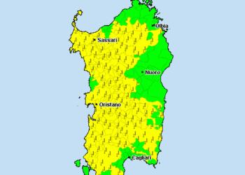 sardegna avvisi meteo 350x250 - Tornano le piogge! Ecco la previsione per le prossime 24 ore