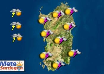 meteo prossimi giorni sardegna 350x250 - Tornano i TEMPORALI anche forti: meteo Sardegna in peggioramento