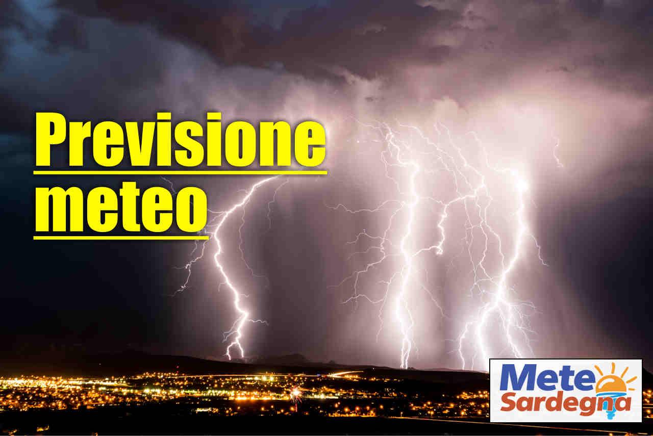 meteo prossimi giorni - Ciclone su Cagliari? Alluvioni lampo? D'improvviso meteo pazzo in Sardegna. Previsione