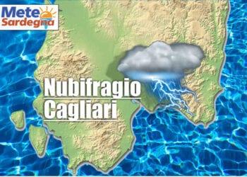 nubifragio su cagliari 350x250 - Meteo Sardegna, gli accessi al sito web di ieri 8 agosto 2021