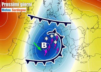 Maltempo, vento freddo. L'autunno in Sardegna si farà sentire rabbioso.