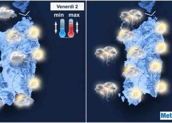 meteo in peggioramento nei prossimi giorni 350x250 - Meteo in peggioramento: piogge, temporali, neve sui monti