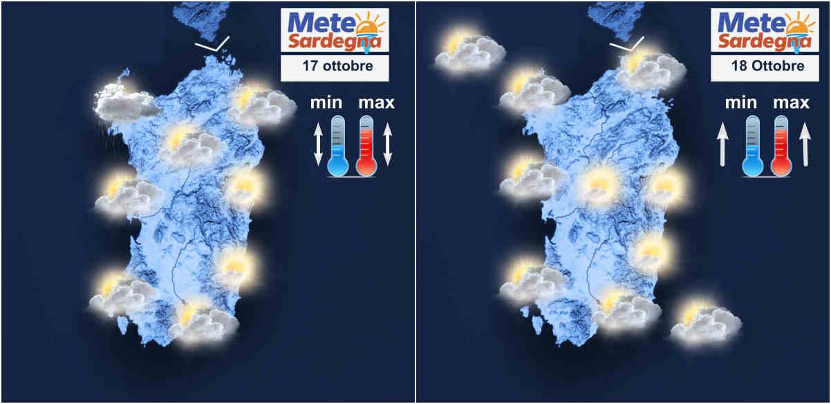 meteo sardegna 4 - Miglioramento meteo nel fine settimana, seguirà fase mite
