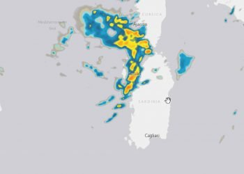 Sardegna, ancora forte maltempo in varie località.