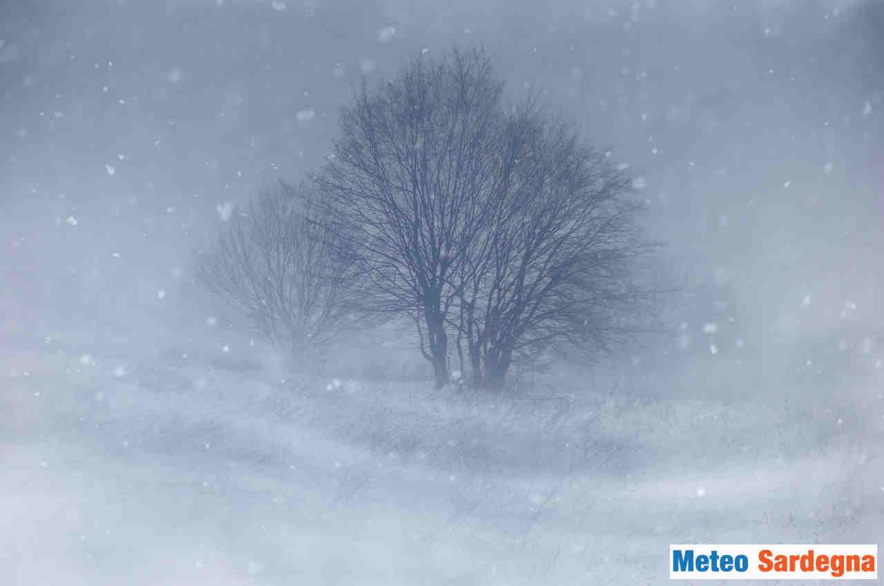 Sardegna: Gennargentu attese tormente di neve