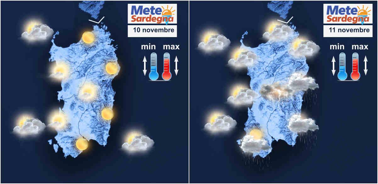 meteo sardegna - Meteo settimana: Anticiclone, ma mercoledì spazio a qualche pioggia