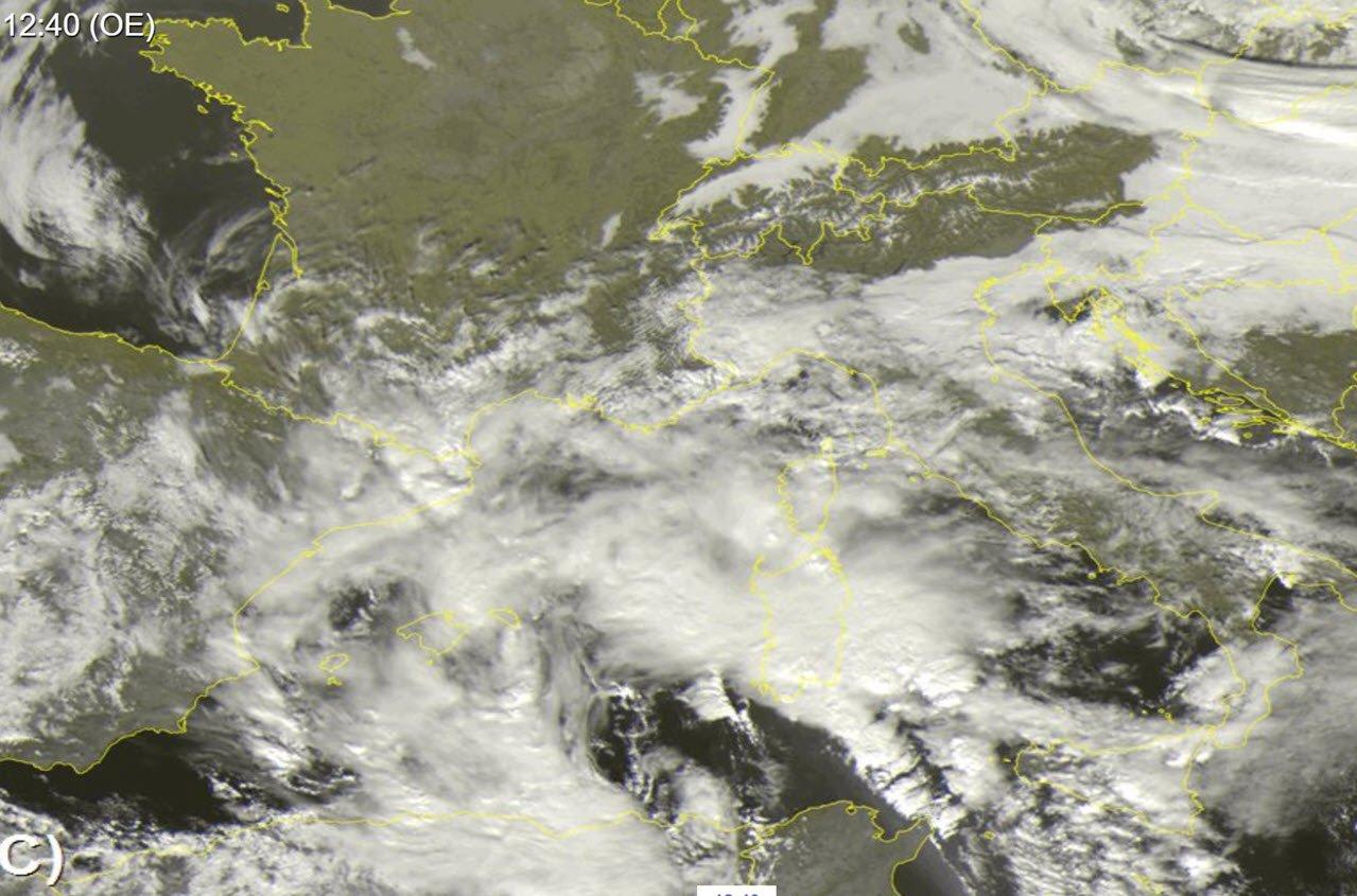 meteosat - Allagamenti rilevanti, strade bloccate. Video Meteo Sardegna