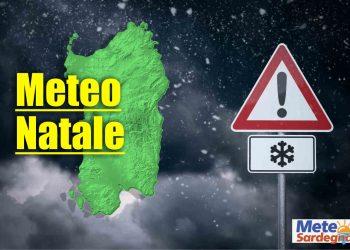Meteo natale in Sardegna stime previsione