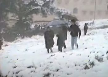 Neve a Cagliari 1993