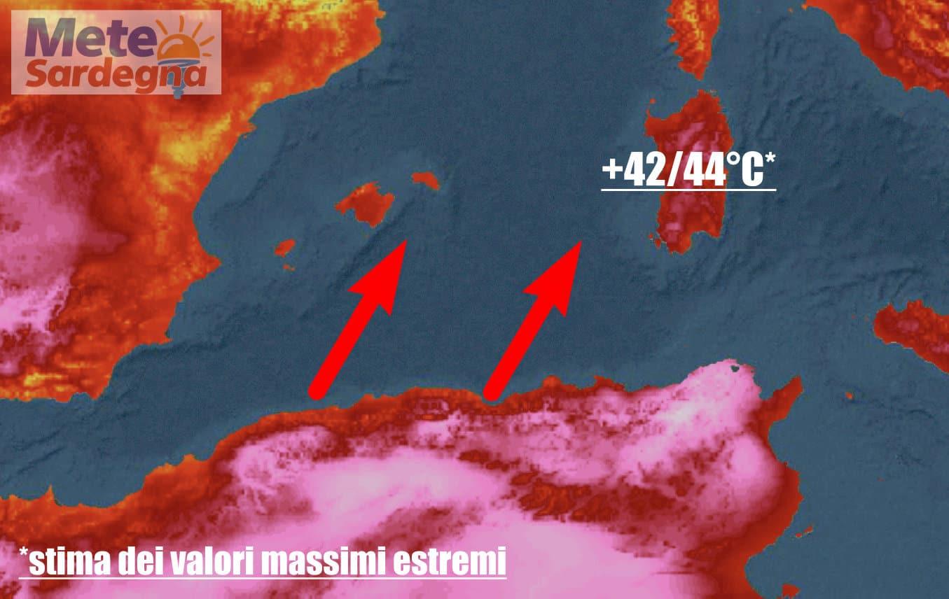 meteo sardegna inizia ondata di caldo - Meteo in Sardegna di nuovo 40 gradi. Inizia, o prosegue l'ondata di caldo
