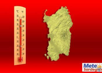 meteo sardegna prossimi giorni con caldo record