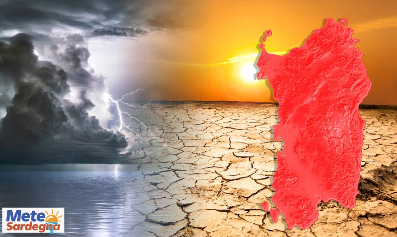 evoluzione meteo sardegna 2 - Estate al tramonto: Meteo SARDEGNA, tra caldo d'Africa e primi Cicloni