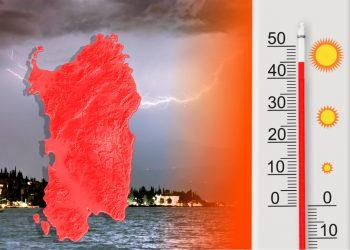 Siamo all'interno dell'ondata di calore.