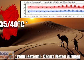 meteo sardegna lucifero e alta pressione africana