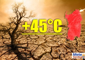 ondata di calore persistente in sardegna