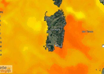 anomalie temperatura mari sardegna 350x250 - Nord SARDEGNA, meteo con improvviso vento che pareva uragano. Danni e spiegazioni
