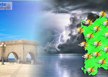 Evoluzione meteo con peggioramento in Sardegna.