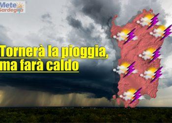 meteo con piogge sardegna