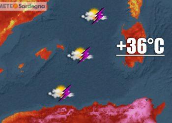 meteo sardegna con caldo africano