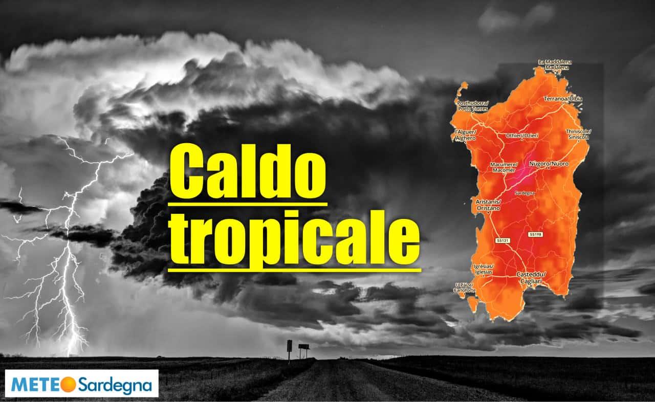 meteo sardegna notte tropicale - Notte dal meteo tropicale in Sardegna, gli effetti a medio termine