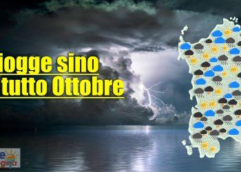 Sardegna, in attesa del meteo piovoso d'autunno. Stima di piovosità.