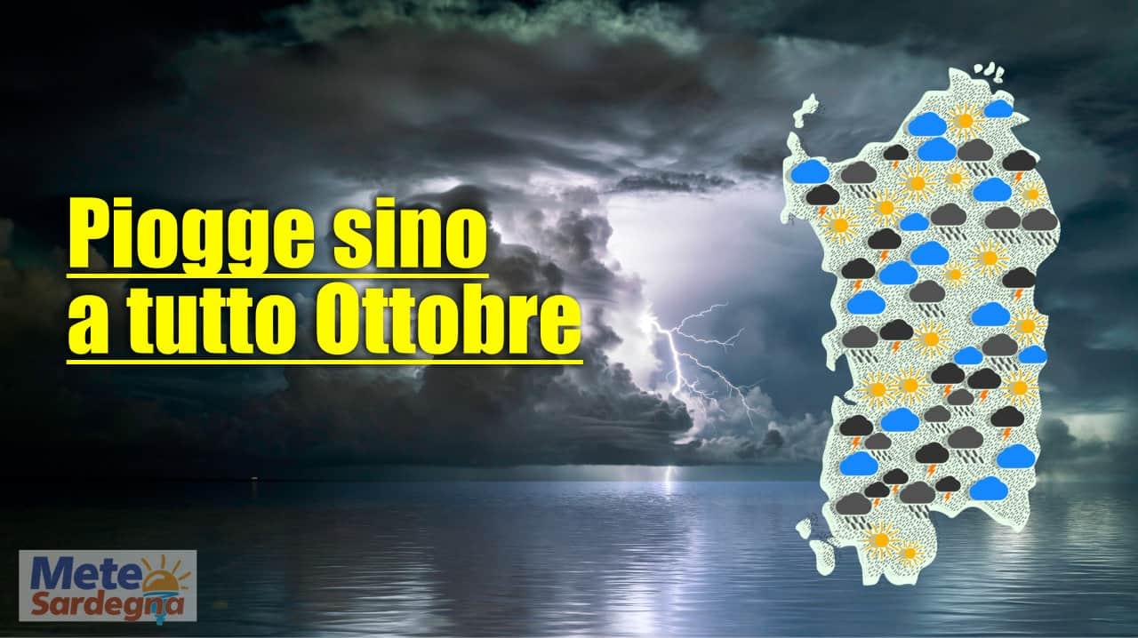 previsione piogge meteo sardegna - Meteo SARDEGNA, previsioni PIOGGE sino a tutto Ottobre 2021. Mappe
