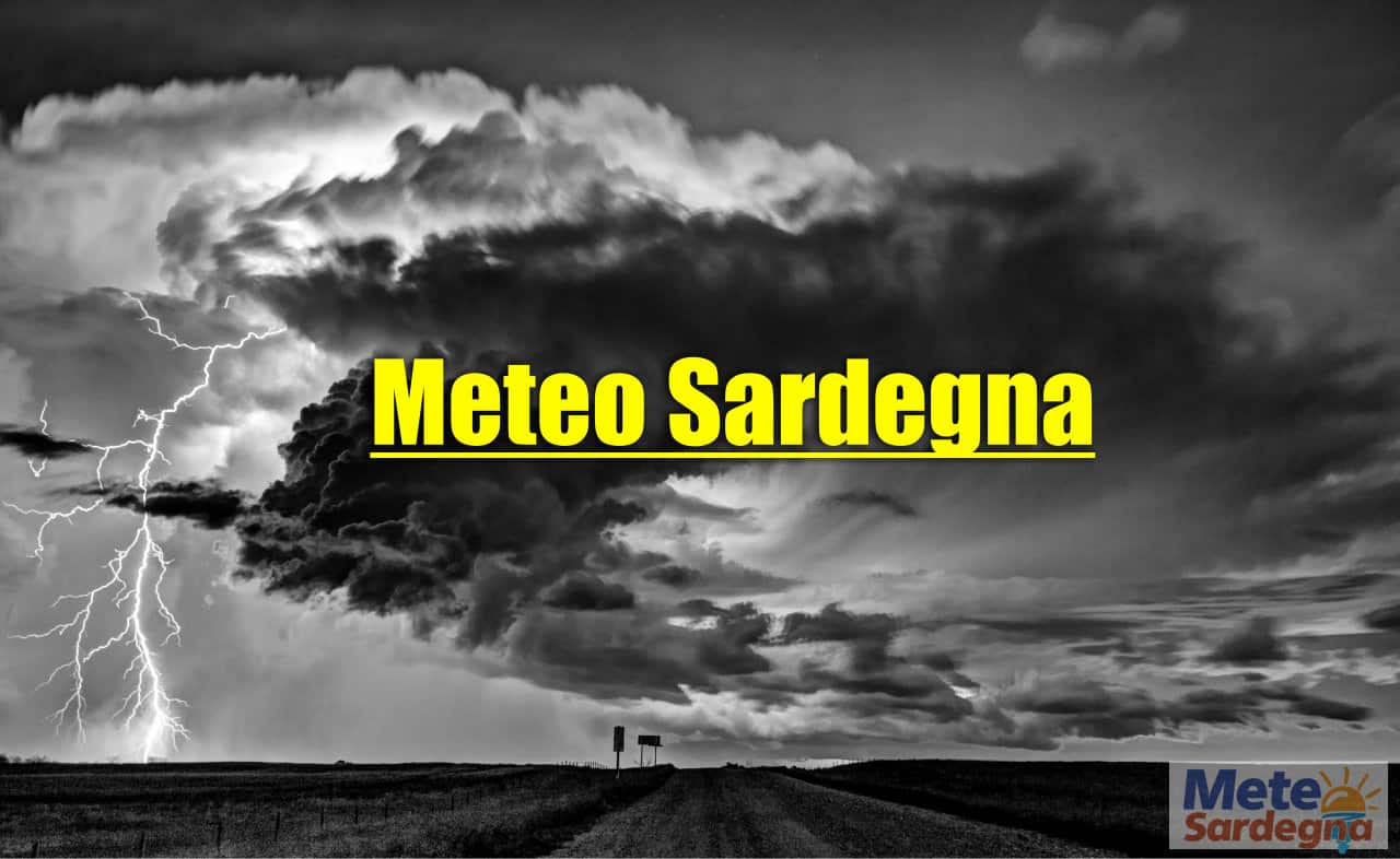 sardegna meteo avverso con temporali - Meteo Sardegna: è arrivato il maltempo. Diversi nubifragi