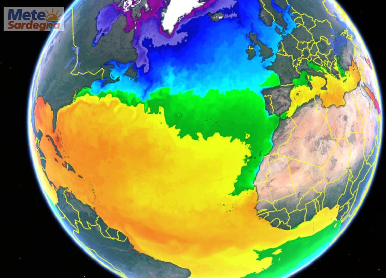 temperature tropicali - Mari della Sardegna con temperature tropicali, ecco causa del meteo estremo