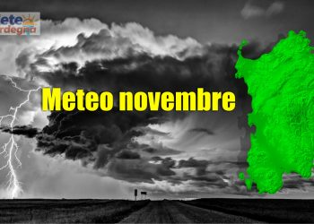 meteo novembre 350x250 - Previsioni Meteo Climatiche per la Sardegna sull'Autunno 2021